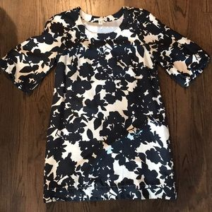 Banana Republic silk/polyester mini dress